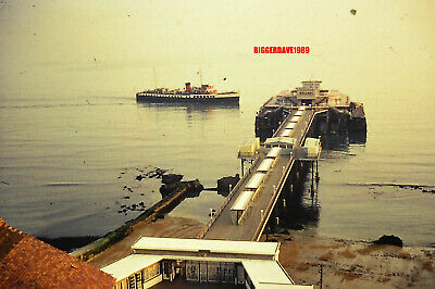 £1.99 • Buy Vintage 35mm Slide – View Of Ferry At Ventnor Pier Isle Of Wight 1963 (3)