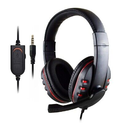 £1 • Buy Stereo Video Gaming Headset For Xbox One PS4 Nintendo Switch & PC Mic Headphones