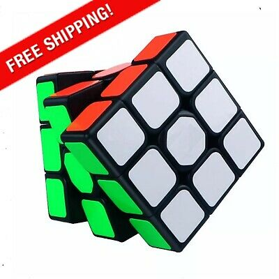 £4.03 • Buy Rubiks Cube 3x3 Magic Cube Speed Puzzle Game Cubes Educational Toy Brain Teaser