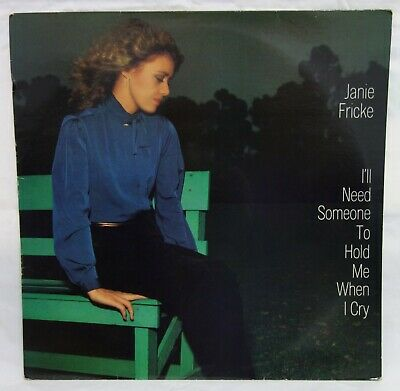 £1.50 • Buy JANIE FRICKE - I'll Need Someone To Hold Me When I Cry .. 1980 Uk CBS Lp