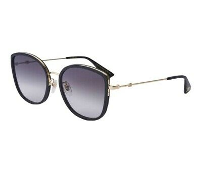 AU215 • Buy Gucci Women Sunglasses With Box And Velvet Case Packaging GG0606 SK 001