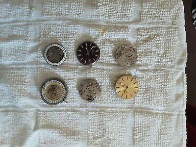 £11 • Buy A Selection Of Six Sekonda Watch Movements For Useful Spares