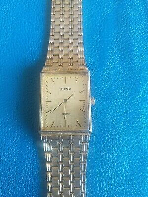 £4.99 • Buy Sekonda Quartz Gents Watch UNTESTED SPARES OR REPAIRS ONLY