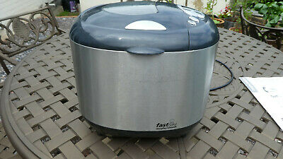 View Details Morphy Richards FastBake 48268 Bread Maker In Good Working Order • 8.80£