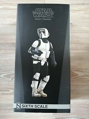 £200 • Buy Sideshow Collectibles Biker Scout Trooper 1/6 Figure