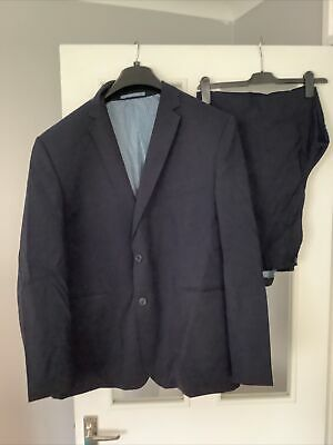 £6 • Buy Mens 2 Pc Suit 50 Regular Jacket 44w  29l Trousers Taylor & Wright