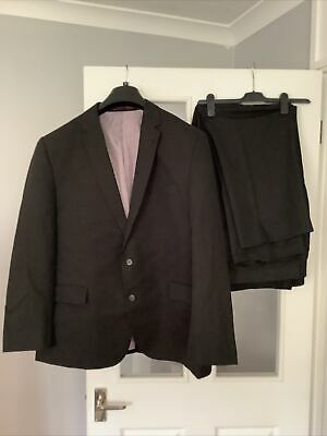£8 • Buy Mens 2 Pc Suit 50 Regular Jacket 2 Pairs Of  44w 29l Trousers  Taylor & Wright