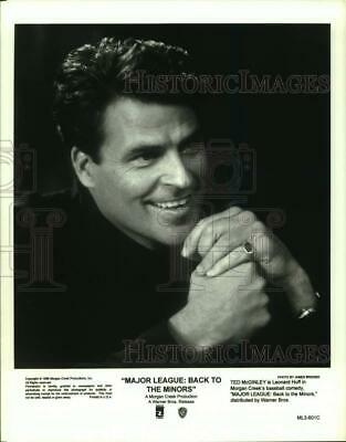 $ CDN19.83 • Buy 1998 Press Photo Ted McGinley Stars In  Major League: Back To The Minors