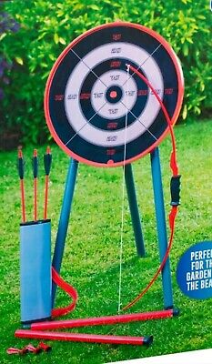 £38.95 • Buy New Garden Giant Archery Games Outdoor Activity Childrens Kids Family Party