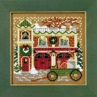 $11.49 • Buy MILL HILL Buttons Beads Kit Counted Cross Stitch FIREHOUSE MH14-9305
