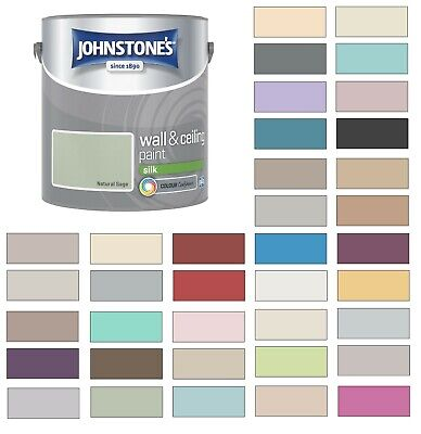 £17.77 • Buy Johnstones Wall Ceiling Silk Emulsion Paint 2.5 Litres - ALL COLOURS