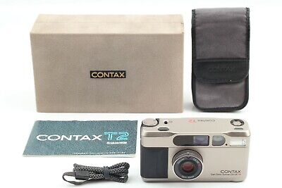 $ CDN1579.90 • Buy 【MINT+++ In Box】 Contax T2 35mm Point & Shoot Film Camera From JAPAN