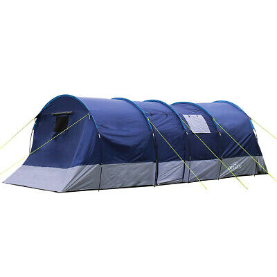 £149.99 • Buy Charles Bentley Odyssey 6 Person Navy Blackout Tent Bedroom Living Sections
