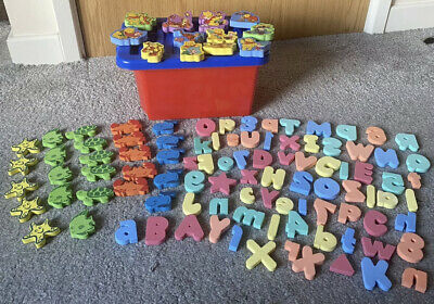 £9.99 • Buy Winnie The Pooh Bath Foams Also Sea Creatures And Letters And Numbers With Tub