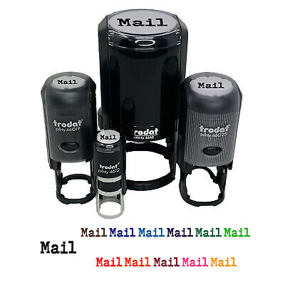 $9.99 • Buy Mail Fun Text Self-Inking Rubber Stamp Ink Stamper