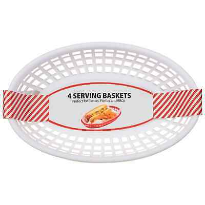 £7.99 • Buy Serving Baskets Burger Snacks Chip Food French Fries Restaurant Style !!!!!!!!!!