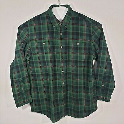 $27.79 • Buy NWT Duluth Trading Mens Flannel Button Down Long Sleeve Shirt Size XL-Tall Plaid
