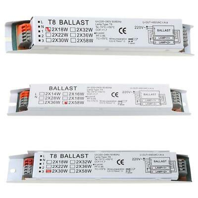 £5.15 • Buy T8 220-240V AC 2x58W Wide Voltage Electronic Ballast Fluorescent Lamp Ballasts