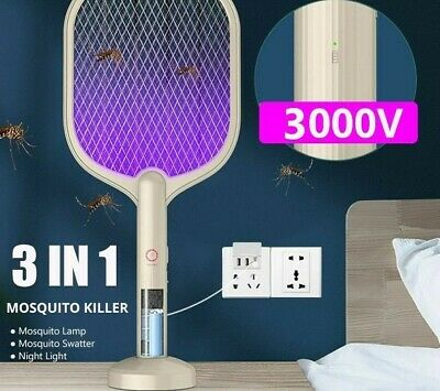 £26.48 • Buy Rechargeable Bug Zapper Mosquito Killer Fly LED Lamp Insect Trap Electric Indoor