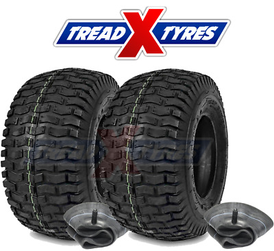 £62.99 • Buy Two 16x6.50-8 Tyre Turf & Grass Tyre For Lawn Mower & Garden Tractor 16x650-8