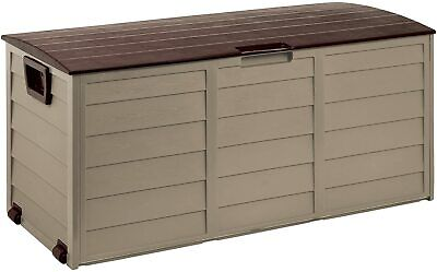 £68.39 • Buy Keter Xl Large Storage Shed Garden Outside Box Bin Tool Store Lockable New