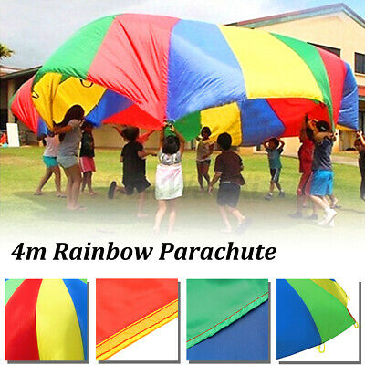 £31.13 • Buy Large Kids Play Rainbow Parachute 3m Outdoor Game Exerclse Group Sport Toy B