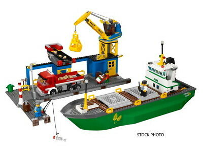 £56.80 • Buy Lego City Harbour 4645 100% Complete Great Condition + Custom Box & FREE P&p!