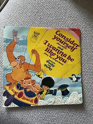"""£3.99 • Buy Pinky And Perky - Consider Yourself/ I Wanna Be Like You 7"""" Vinyl Vintage 1970"""