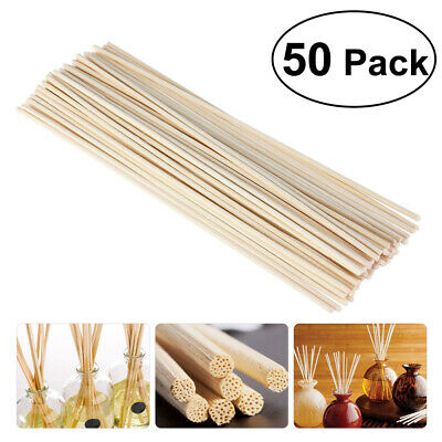AU7.03 • Buy NUOLUX Natural Rattan Reed Oil Diffuser Sticks Refill Replacement Sticks
