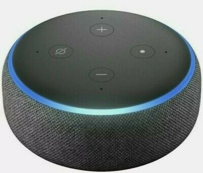 AU29 • Buy Brand New Amazon Echo Dot 3rd Generation Smart Assistant - Charcoal Fabric