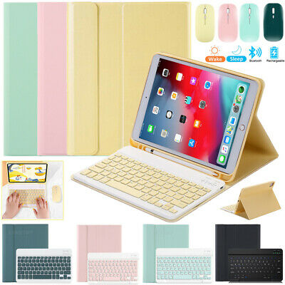 AU20.99 • Buy Bluetooth Keyboard Leather Smart Case Cover&Mouse For IPad 5/6/7/8th Air Pro 11