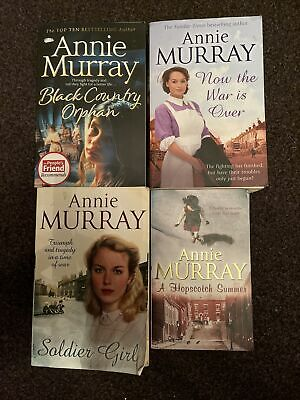 £11.99 • Buy Annie Murray Historical,Chic-Lit,Love Book Bundle X4 Free Post LOTS LISTED (42)