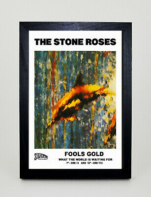 £13.98 • Buy STONE ROSES Fools Gold Vintage Style Framed A3 Poster Print MADE IN UK