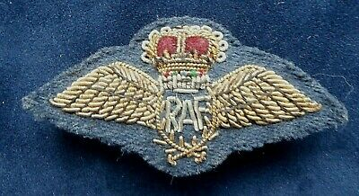 £19.99 • Buy RAF Genuine Vintage Pin Back Mess Dress Bullion Wings Worn By Foreign Nationals