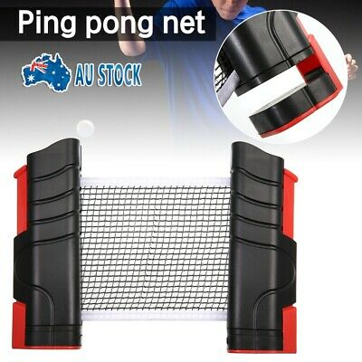 AU12.99 • Buy Indoor Games Retractable Table Tennis Ping Pong Net KitReplacement Set
