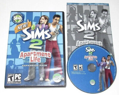 £10.80 • Buy The Sims 2 Apartment Life Expansion Pack PC 2008