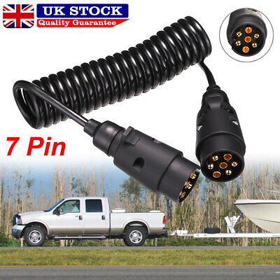 £9.49 • Buy  3M Trailer Light Board Extension Lead Cable 7 Pin Plug Socket Towing Wire Truck