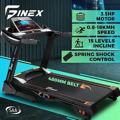 AU1499.90 • Buy Finex Treadmill Electric Auto Incline Running Machine Home Gym Exercise Fitness