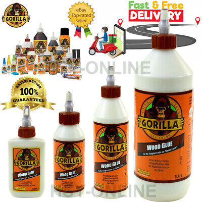 £4.99 • Buy Gorilla Wood Glue   Water Resistant PVA Strong Fast Bond Non Foaming Adhesive