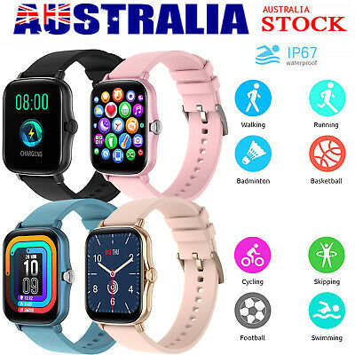 AU41.59 • Buy Smart Watch Women Men Heart Rate Fitness Traker Bracelet IP67 For IPhone Android