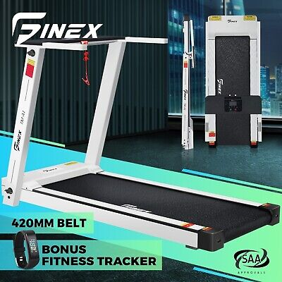 AU529.90 • Buy Finex Electric Treadmill Home Gym Run Exercise Machine Fitness Equipment Compact