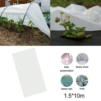 £13.90 • Buy 1.5m X 10m Frost Fleece Plant Protection Garden White Cover Horticultural