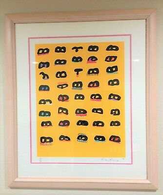 £255.08 • Buy SUNBAKERS ONE By KEN DONE, #36 Of 99 Ltd., Lithograph, Signed, Framed *RARE*