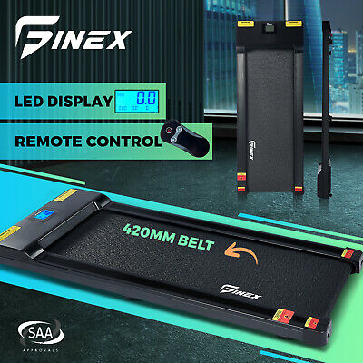 AU559.90 • Buy Finex Electric Walking Pad Treadmill Home Exercise Machine Fitness LCD Display