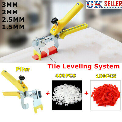 £15.49 • Buy 500PCS Tile Leveling Spacer System Tool Clips Wedges Flooring Lippage Plier UK