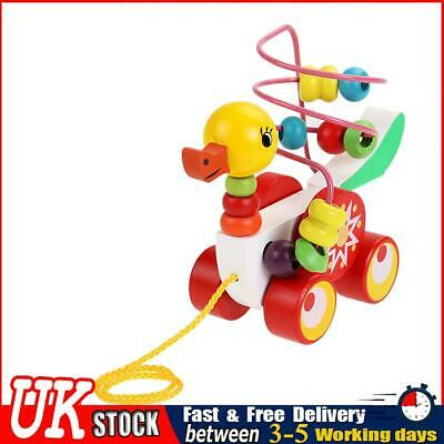 £10.30 • Buy Toys For Kids Children Educational Toys 1-3 Year Olds Duckling Trailer Round  ✧