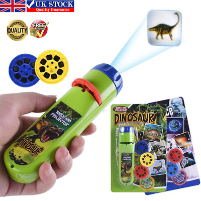 £6.56 • Buy Projector Flashlight Mini Torch Educational Light-up Toys For Kids Children Gift