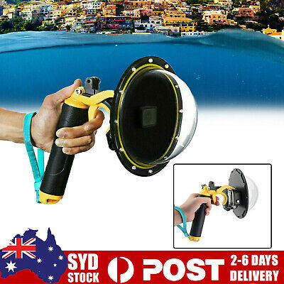 AU54.99 • Buy TELESIN Dome Port Underwater Diving Camera Lens Cover For GoPro Hero 8  A.U