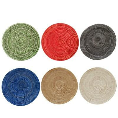 AU19.42 • Buy Set Of 6 Table Place Mats Dining Tableware Washable Dinner Easy To Clean Kitchen