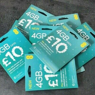 £0.99 • Buy Ee Sim Card New Only 0.99p Standard Micro Nano Pay As Go